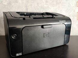 Принтеры и МФУ - Лазерный принтер HP P1102w c WiFi, 0