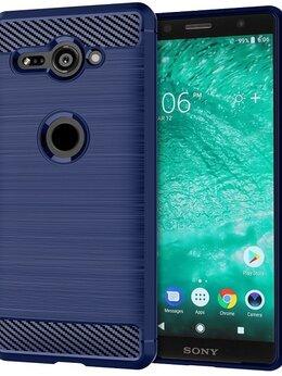 Чехлы - Чехол на Sony Xperia XZ2 Compact цвет Blue…, 0