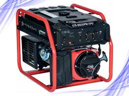Электрогенераторы - Генератор бензиновый Elitech СГБ 6500РМ ПРО, 0