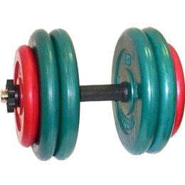 Гантели - Гантель разборная цветная 51.5 кг, 0