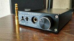 Усилители и ресиверы - Усилитель наушников и ЦАП FX-audio DAC-x6, 0