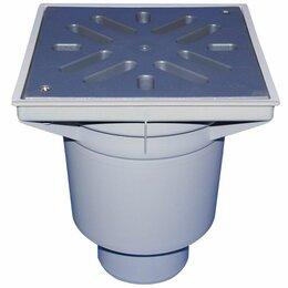 Бра и настенные светильники - HL606L/1 Дворовый трап DN110 с вертикальным выпуском, ПП решеткой, незамерзающим, 0