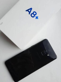 Мобильные телефоны - Телифон самсунг а8 +, 0