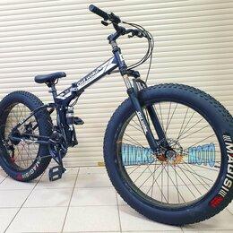 """Велосипеды - Фэтбайк 26"""" Get Woke, складной, 21 ск. серый, 0"""