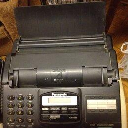Проводные телефоны - Телефон-факс Рanasonic, 0