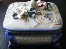 Шкатулки - Шкатулка из керамики., 0