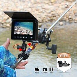 """Эхолоты и комплектующие - Lucky FL180 камера подводная с записью экран 4,3"""", 0"""