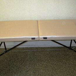 Массажные столы и стулья - Стол массажный складной ш. – 70 (новый) + сумка для переноски + валик., 0