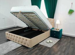Кровати - Кровать двуспальная с подъемным механизмом, 0