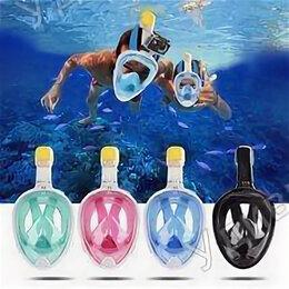 Маски и трубки - Маска Free Breath для подводного плавания L/XL полный комплект, 0