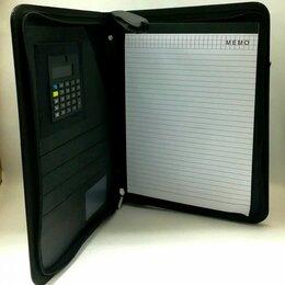Папки и системы архивации - Папка деловая черная кожзам на молнии 255*330*15 205 /30, 0