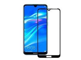 Защитные пленки и стекла - Защитное стекло Huawei Y7 2019 (9D), 0