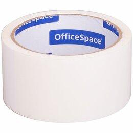 Строительный скотч - Скотч 48мм х 40 м OfficeSpace, 45мкм, белая, ШК, 0