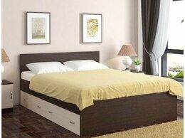 Кровати - Кровать двуспальная серия Ронда, с матрасом., 0