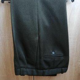 Брюки - Классические брюки (почти новые) для работы, дачи, в гараж. Размер: 48, 0