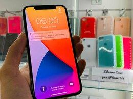 Мобильные телефоны - я Apple iPhone X 64gb Sliver Идеал FACE Магазин…, 0