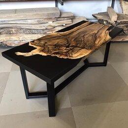 Столы и столики - Стол-река из слэба с эпоксидной смолой по вашему…, 0