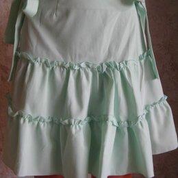 Юбки - Летняя юбка мятного цвета, р.44, 0