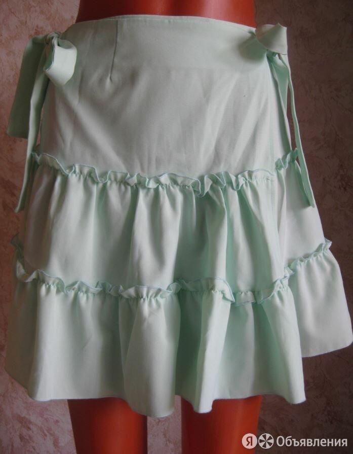 Летняя юбка мятного цвета, р.44 по цене 300₽ - Юбки, фото 0