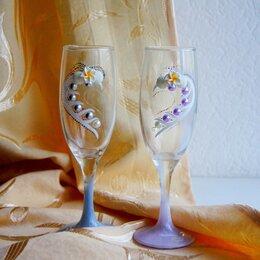 Свадебные украшения - Свадебные бокалы, 0