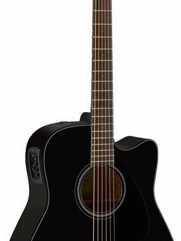 Акустические и классические гитары - Yamaha FGX800CBL Гитара электроакустическая…, 0