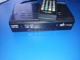 ТВ-приставки и медиаплееры - Приставка-ресивер для цифрового TV DVB-T20/C HD, 0