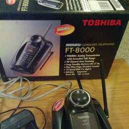 Радиотелефоны - Радиотелефон 900 MHz Toshiba FT-8000, 0