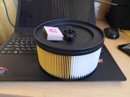 Аксессуары и запчасти - Сменный фильтр для пылесоса KARCHER WD4.000 ‑…, 0