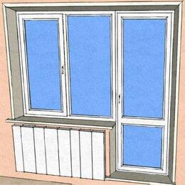 Окна - Пластиковые окна с дверью 1900 X 2100, 0
