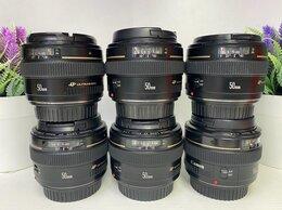 Объективы - Canon EF 50mm f/1.4 USM (гарантия магазина ), 0