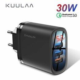 Зарядные устройства и адаптеры - Быстрое Зарядное устройство USB с индикатором, 0