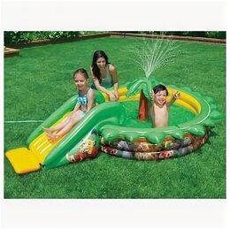 Игровые и спортивные комплексы и горки - Игровой детский водный центр с горкой, 0