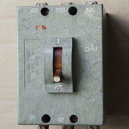 Защитная автоматика - Автоматический выключатель, 0