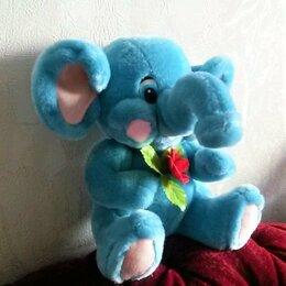 Мягкие игрушки - Мягкие игрушки, новые (слоник, лошадка, собачка), 0