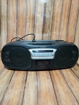 Музыкальные центры,  магнитофоны, магнитолы - Магнитола Aiwa CS 110-V, Japan , 0