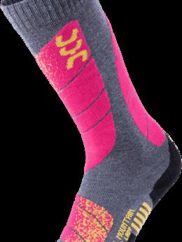 Колготки и носки - Носки UYN Ski All Mountain Medi Grey/Pink ж., 0