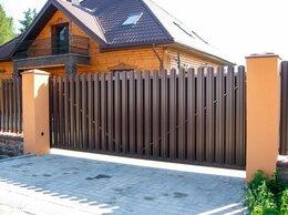 Заборы и ворота - Откатные ворота под ключ, 0