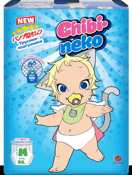 Подгузники - Maneki Подгузники-трусики детские одноразовые…, 0