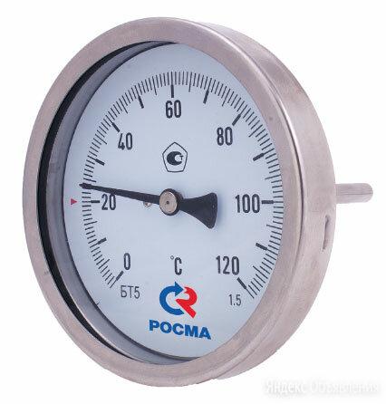Термометр биметаллический БТ-52.211 (0-100С) L=64 М20х1,5 с гильзой по цене 1275₽ - Элементы систем отопления, фото 0