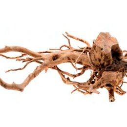 Декорации для аквариумов и террариумов - Природная коряга для аквариума Aquael Root Driftwood XL, 0