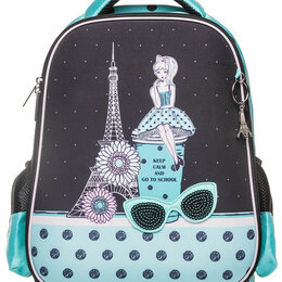Рюкзаки, ранцы, сумки - Новый каркасный рюкзак Hatber для девочки, 0