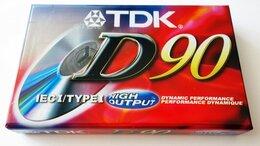 Музыкальные центры,  магнитофоны, магнитолы - TDK - D90 - Type I - High Output- Кассета, 0