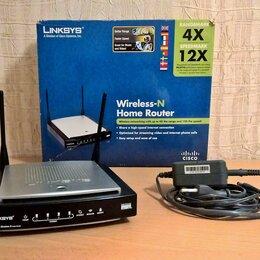 Проводные роутеры и коммутаторы - Роутер LINKSYS WRT 150N-EU Wireless-N Home Router, 0