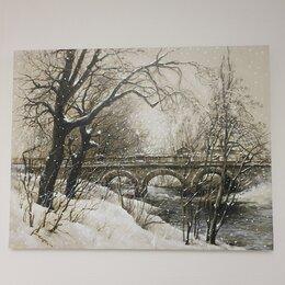 """Картины, постеры, гобелены, панно - Картина маслом на холсте """"мост"""", 0"""