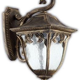 Уличное освещение - Светильник садово-парковый, 60W 230V E27 черное золото, IP44, PL4072, 0