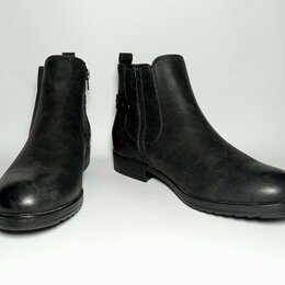 Ботинки - Ботинки «LILLEY». Кожа. Новые. Унисекс.  UK – 9 или 43 по стельке 28,5 см., 0