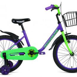 Трехколесные велосипеды - Детский велосипед Barrio 18 фиолетовый (2020), 0