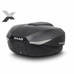 Аксессуары и дополнительное оборудование  - Кофр для мотоцикла SHAD SH58 CARBON, 58 л., 0