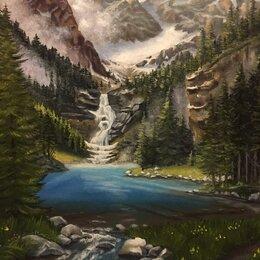 """Картины, постеры, гобелены, панно - Картина """"Горный пейзаж"""", 0"""