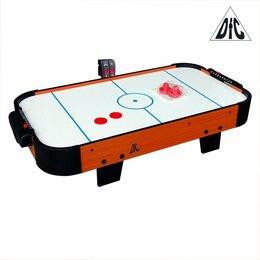 Игровые столы - Игровой стол - аэрохоккей DFC LION PRO эл.счетчик, 0